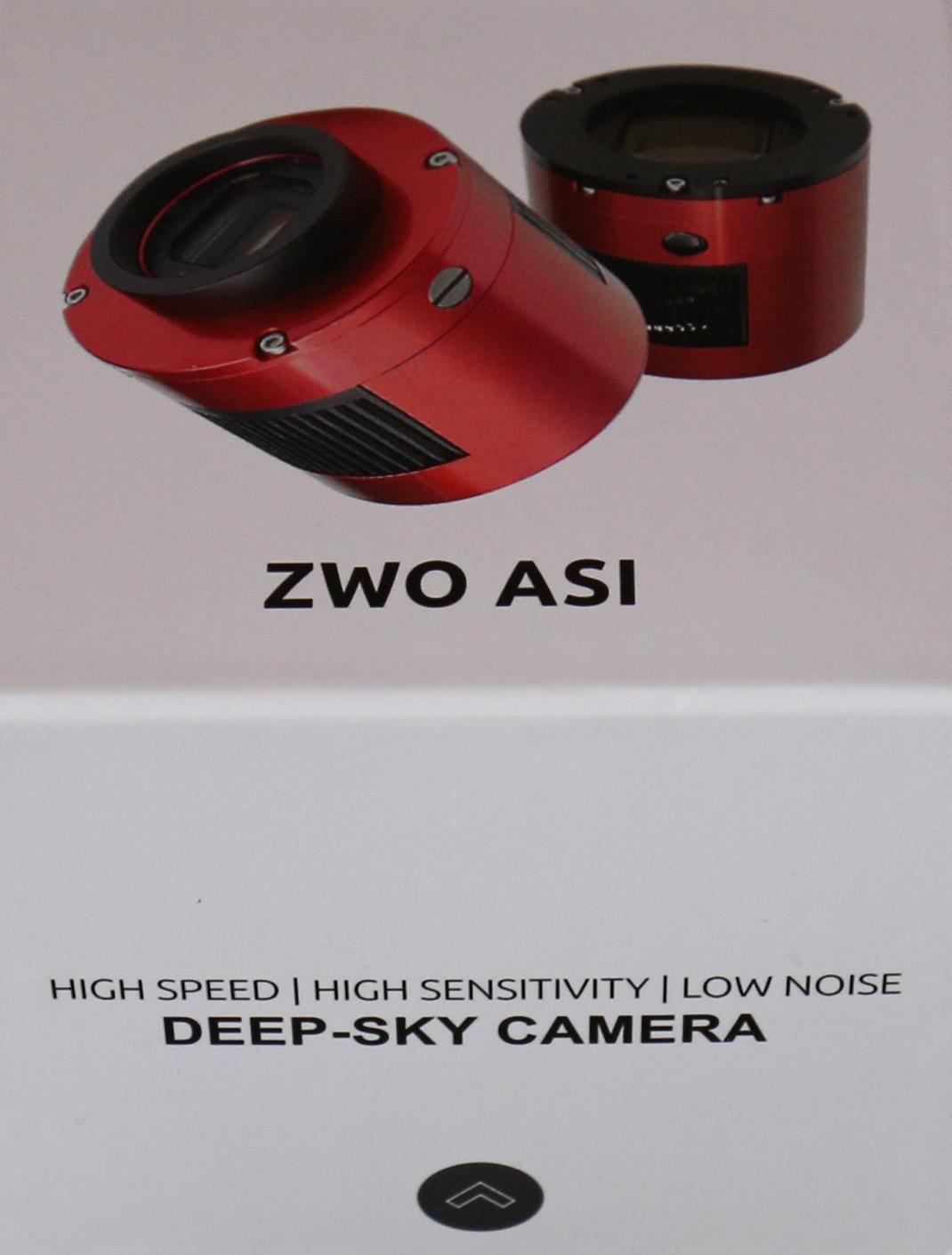 ZWO ASI094MC - camera box