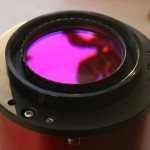 "ZWO ASI094MC - custom adapter with Baader 2"" UV/IR cut filter"